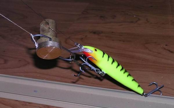 Отцеп для рыбалки своими руками