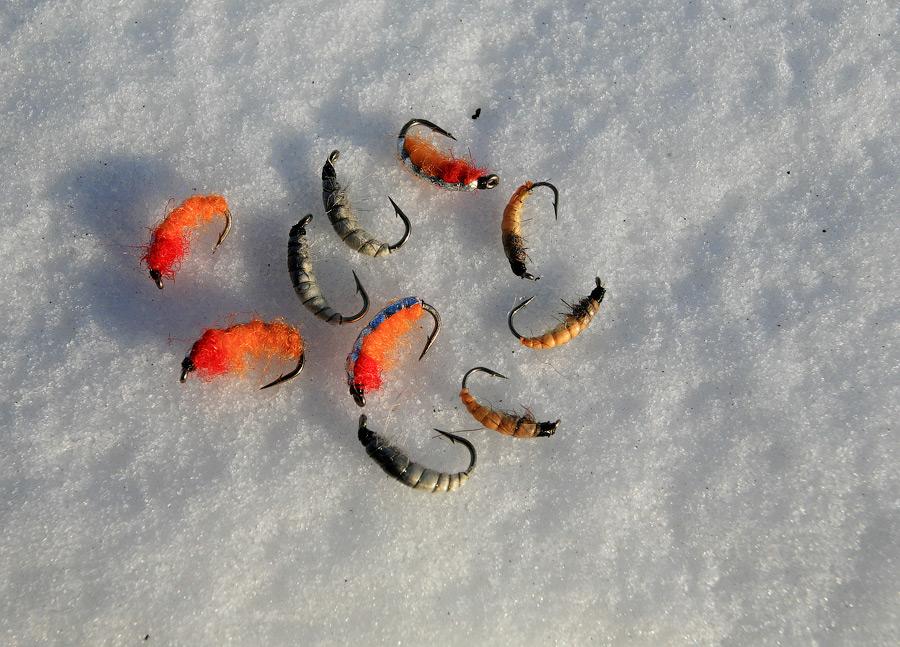 Мормышка на ловля сига зимой
