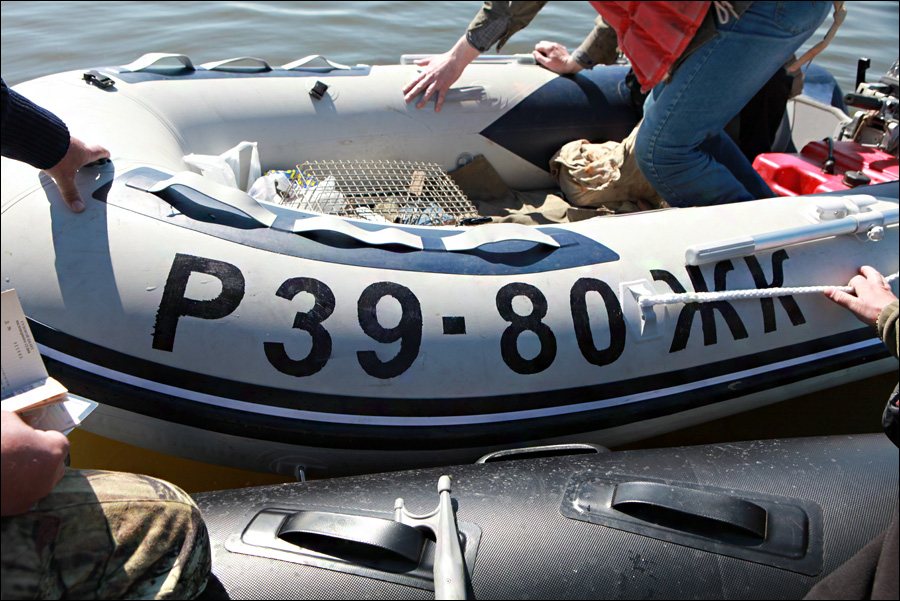 Бортовые номера на лодку