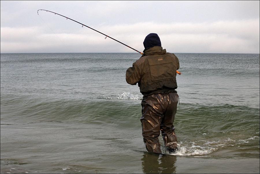 видео ловля на море