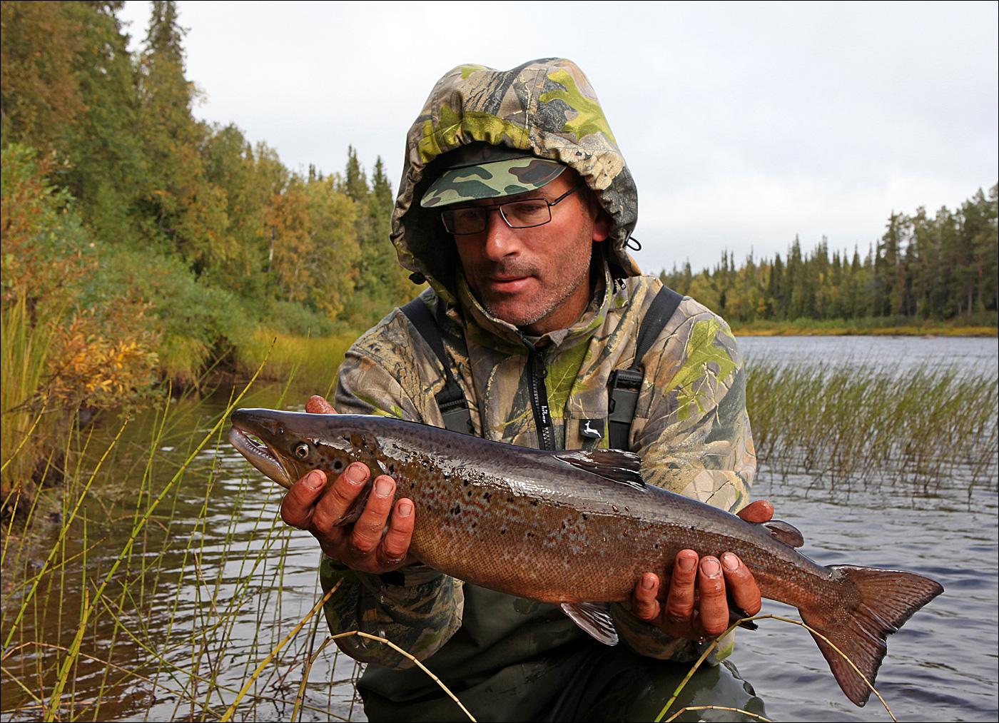 реки кольского полуострова для рыбалки