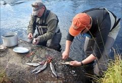 рыбалка мурманск май